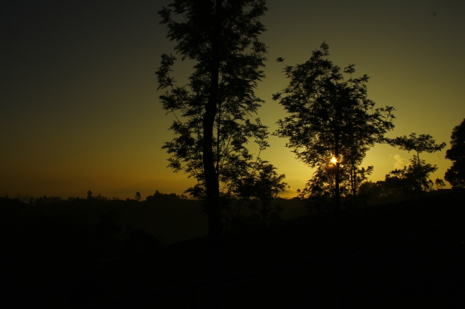 Sun Set in Pangalengan